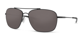 Costa Del Mar CAN 101 OGP Canaveral Satin Black Sunglasses - $190.08