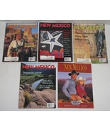 Lot of 4 New Mexico Magazines 1999 Back Issues + Bonus  - $9.00