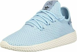 Adidas Tennis Hu x Pharrell Williams CP9802 Sneakers Ice Blue (Youth) 7 - $99.97
