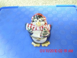 Two New Mr. Christmas Musical Ornaments - Penquin And Nutcracker - $9.89