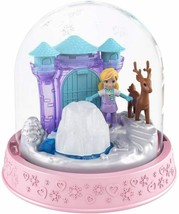 Polly Pocket Mini Snow Globe Winter Christmas Ice Palace Playset - $17.81