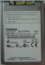 "New 160GB 1.8"" uSATA Hard Drive Toshiba MK1629GSG HDD1F08 Free USA Shipping - $68.55"