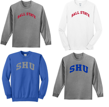 NCAA Child Youth Long Sleeve Crewneck Sweatshirt -CHOOSE your team - $8.90+