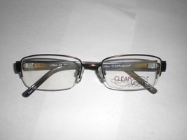 Clearvision Designer Eyeglasses Frames Regis Brown Full Rim Size : 54-19-140 mm - $20.99