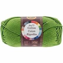 Lion Brand 27/7 Cotton - Grass- 100% Mercerized Cotton