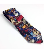Looney Tunes Men's Necktie Bugs Bunny Duffy Duck Tweety Tasmanian Devil Tie - $7.69