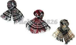 Charter Club Chenille Plaid Scarf Choice of Colors - ₨641.55 INR