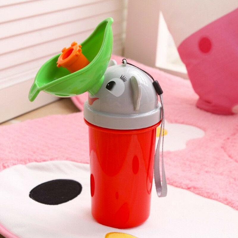 Portable Convenient Travel Cute Baby Urinal Kids Boy Car Toilet Potty Traveling