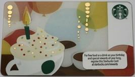 Starbucks 2012 Birthday Cup Gift Card New - $4.99