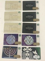STARBUCKS Special Edition, New Year Ball and Hanukkah Gift Cards No Value - $18.69