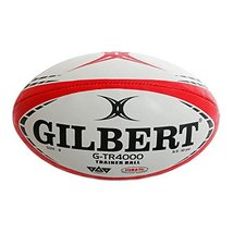 Gilbert G-TR4000 Rugby Training Ball - Red (5) image 2