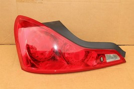 2008-13 Infiniti G37 Coupe Tail Light Lamp Driver Left LH image 1