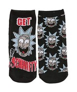 Rick and Morty Characters 5 Pair Pack Lowcut Womens Socks Standard - $11.71