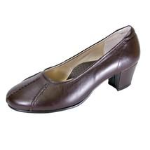 PEERAGE Kori Women Wide Width Elegant Leather Comfort Dress Pumps  - $29.95