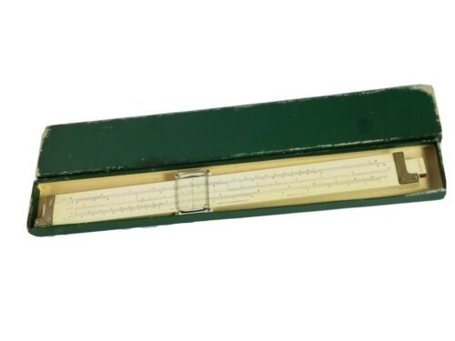 Vintage Keuffel & Esser Slide Rule 4088-3 in Box Made in U.S.A - $44.08