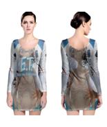 E.T. the Extra-Terrestrial Women Sexy Long Sleeve Bodycon  Dress - $24.80+