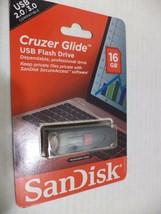 SanDisk Cruzer Glide 16GB USB Flash Drive - $8.59