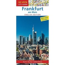 GO VISTA: City Guide Frankfurt am Main - English Edition: Guidebook with... - $9.00