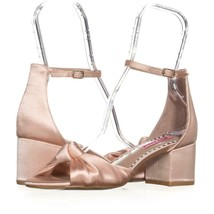 Betsey Johnson Ivee Ankle Strap Sandals 831, Blush, 9 US - $56.63