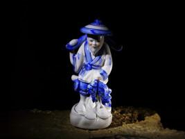 EBISU Abundance Happiness Health Good Fortune Haunted Japan Statuette by... - $333.00