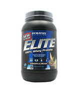 Elite Whey Protein, Cookies & Cream 2lbs by Dymatize - $28.99