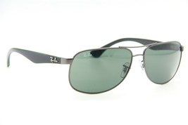 RAY-BAN Rb 3502 029 Gunmetal Green Authentic Frames Sunglasses 61-14 - $79.71