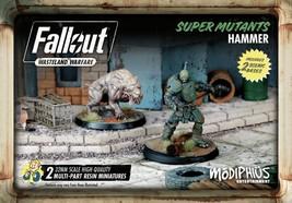 Fallout Wasteland Warfare Super Mutants Hammer Miniatures Modiphius MUH0... - $22.95