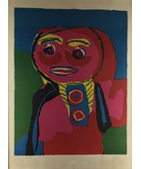 Fille Souliante 69' By Karel Appel  Hand Signed And Numbered 39/85 - $1,473.09