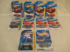 Hot Wheels Showroom 2013 Special Edition New Models Mattel Camaro Lot of 10 New - $34.65