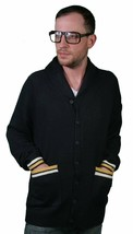 Crooks and Castles Navy Blue CC Anchor Knit Cardigan