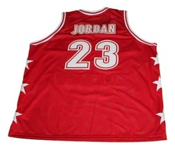 Michael Jordan #23 McDonald's All American New Basketball Jersey Red Any Size image 2