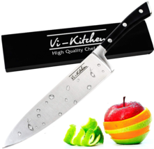 Professional 8 inch Chef Knife with Stainless Steel Razor Sharp Blade  - $36.23