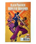 Black Panther World of Wakanda #2 VF / NM Marvel Comics 2017 - $7.84