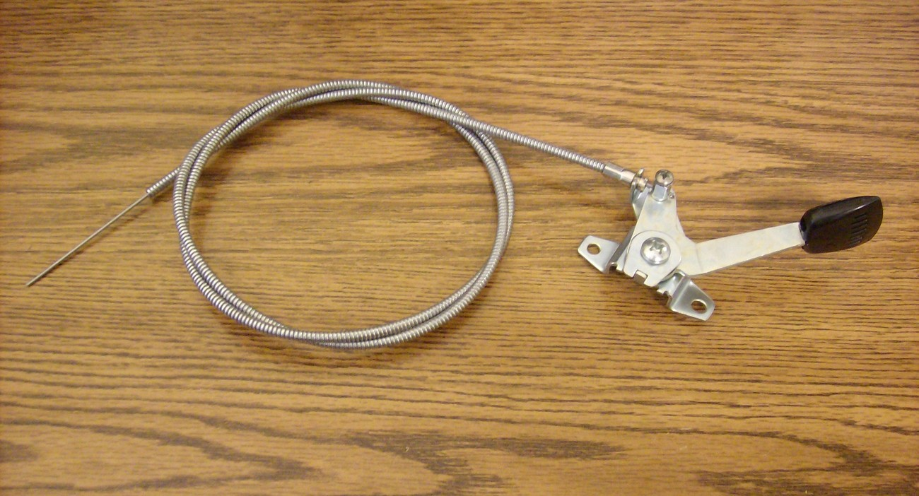 Gravely lawn mower throttle cable 021196