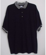 Mens Gildan NWOT Black Short Sleeve Polo Shirt Size Large - $15.95
