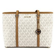 Beige ONE SIZE Michael Kors Womens Handbag SADY 35T7GD4T7B VANILLA ACRN - $392.41
