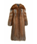 Red Fox Fur Coat Full Length Fully Let out Shawl Collar SAGA No Reserve ... - $1,782.00