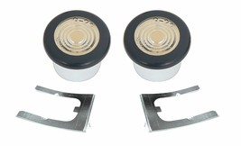 OER Front Side Marker Lamp Set With Retainters 1969 Pontiac Firebird - $49.48