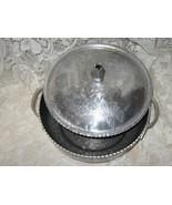 Hammered Aluminum-Rodney Kent- 2 pc Casserole-1950's - $24.00