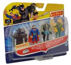Justice League Mighty Minis Figures Hawkman Superman Lobo - $9.00