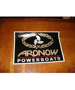 Details about   ARONOW POWERBOATS AUTHENIC LARGE DECAL - $12.50