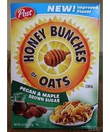 Honey Bunches of Oats Pecan & Maple Brown Sugar 14.5 oz ( 2 Pack) - $26.72