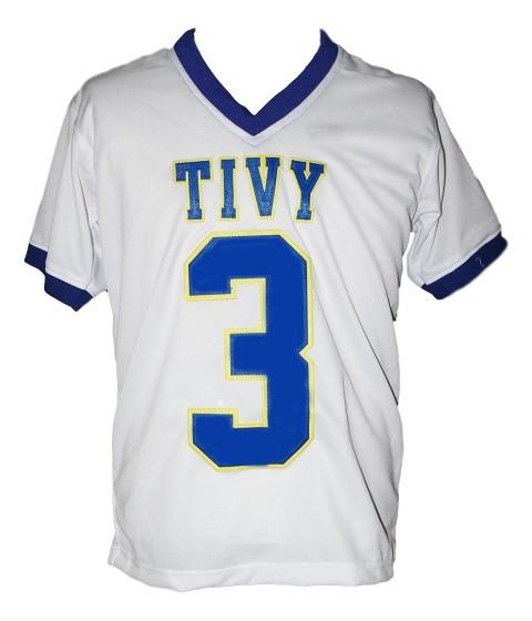 Johnny manziel  3 tivy high school new men football jersey white 1
