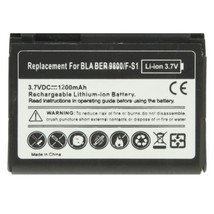 1200mAh F-S1 Replacement Battery for Blackberry Torch 9800 - $23.10