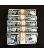 50.000 PROP MONEY REPLICA 100s New Style Full Print For Movie Video Etc ... - $95.99