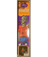 Hallmark Stickers Halloween Zombie Moveable Decorations 30 inches tall  - $8.74