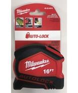Milwaukee - 48-22-6816 - 16' Compact Auto Lock Tape Measure - $18.76