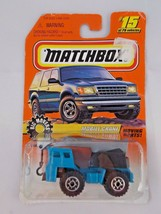 Matchbox #15 Big Movers Mobile Crane 1997 Vehicle - $4.95