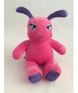 "BUILD A BEAR pink purple BUTTERFLY BUG W/ PURPLE ANTENNA 16"" plush - $11.29"