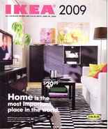 IKEA 2009 home furnishings store catalog magazine - $10.00